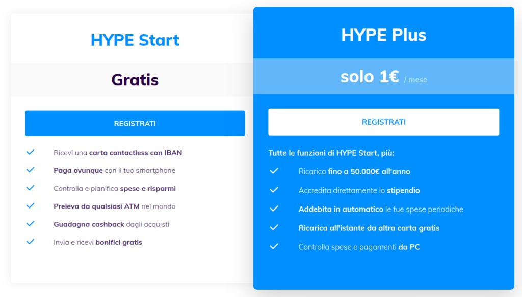 Il Codice HYPE vale 10 o 15 euro gratis e subito semplicemente seguendo la guida
