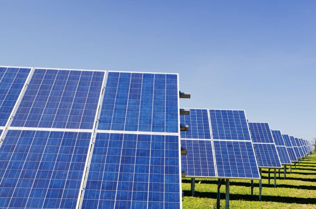 Pannelli solari usati per la produzione del codice promozione Sorgenia