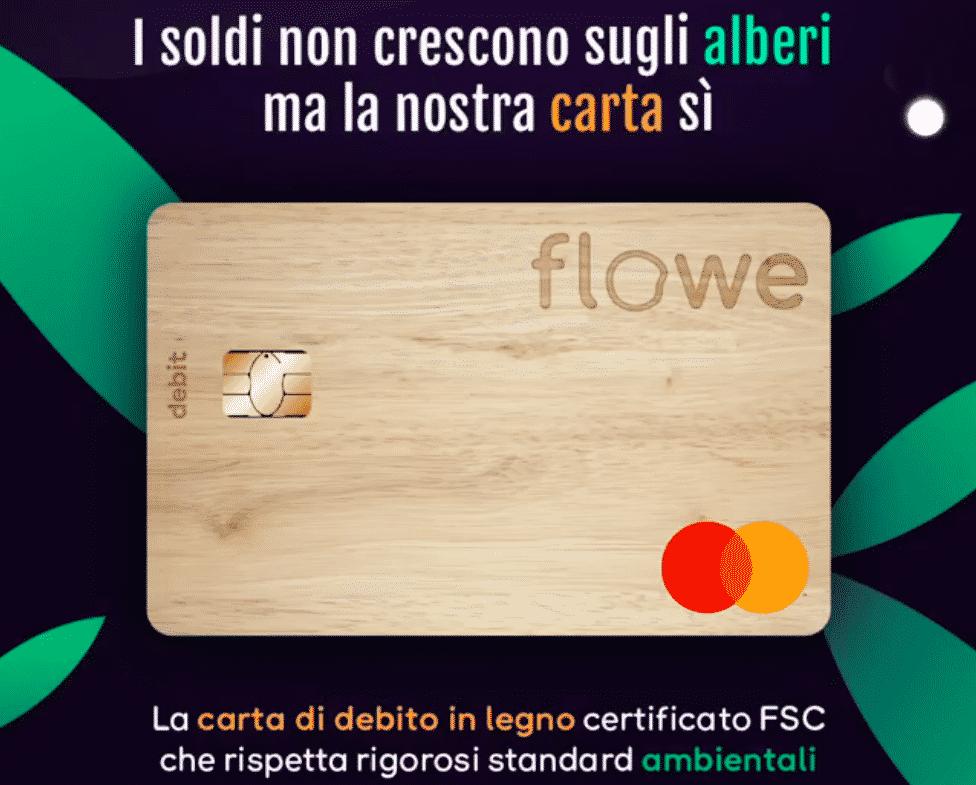 Buono Amazon gratis attivando il conto zero spese Flowe